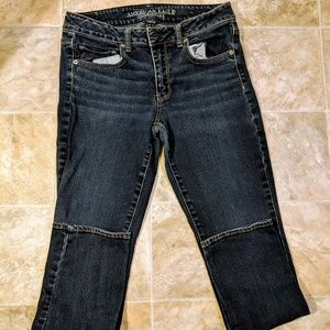 American Eagle Straight Jeans Stretch Size 8